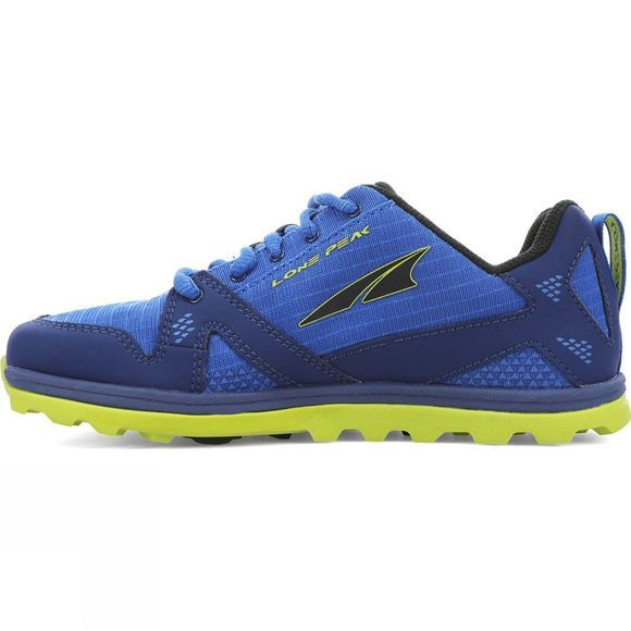 Altra Youths Lone Peak Blue/Lime