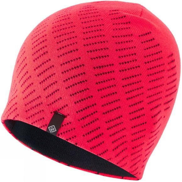 Ronhill Unisex Classic Beanie Hot Pink/Charcoal