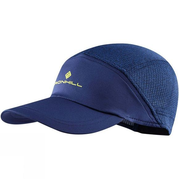 Ronhill Air-Lite Cap Midnight Blue/Acid