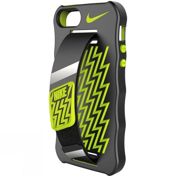 Nike Handcase for iPhone 5 Black          /Bright Yellow