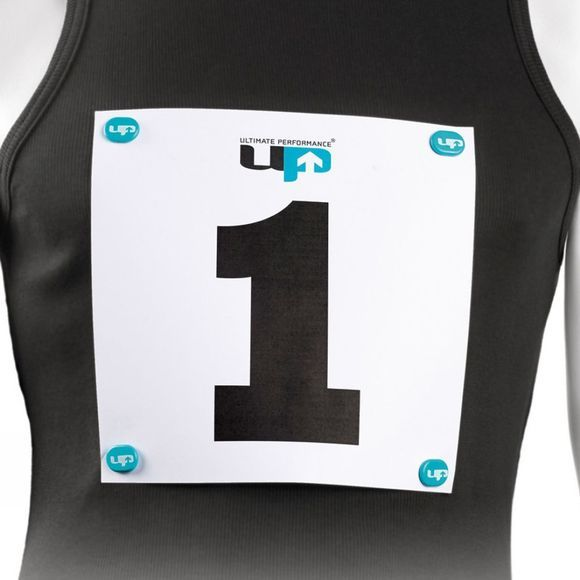 Ultimate Performance Race Number Magnets Black