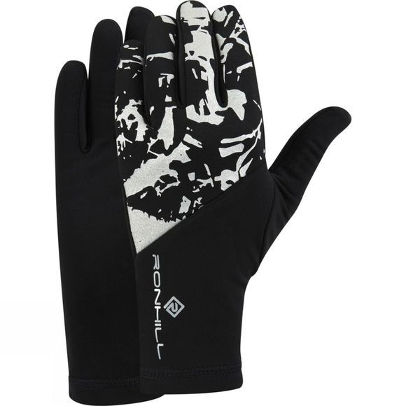 Ronhill Mens Sirius Glove Black/Reflect