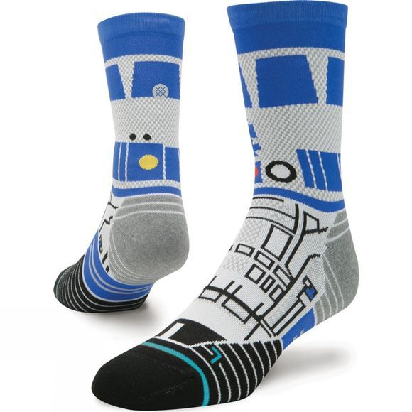 Stance Mens R2D2 Crew Sock White