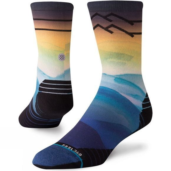 Stance Early Riser Crew Blue