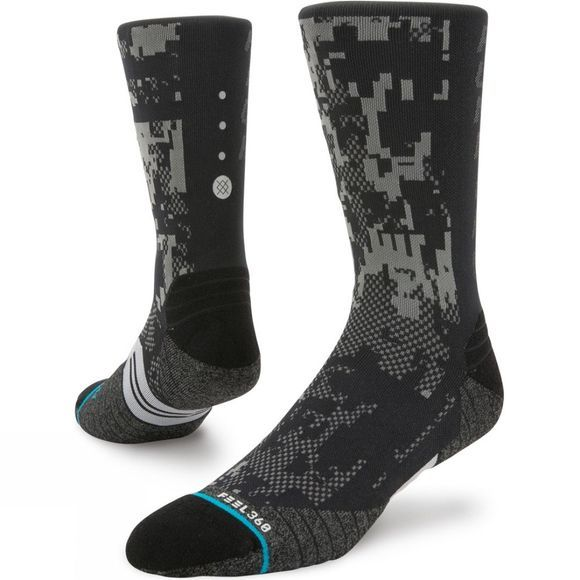 Stance Mens Prism Crew Socks  Black