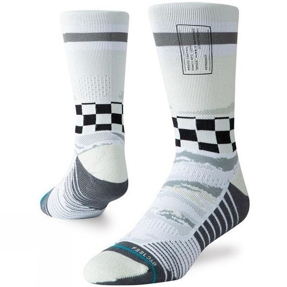 Stance Men's Mission Space Crew Off White