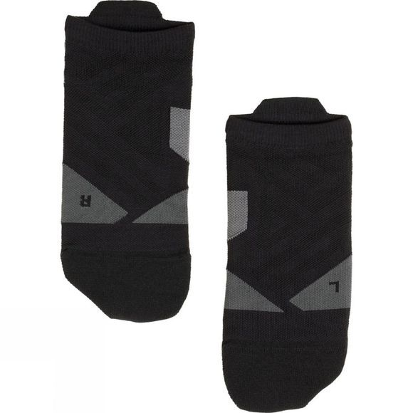 On Men's Low Sock Black/Shadow