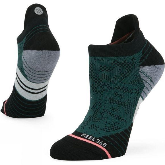 Stance Womens Interval Tab Socks Green