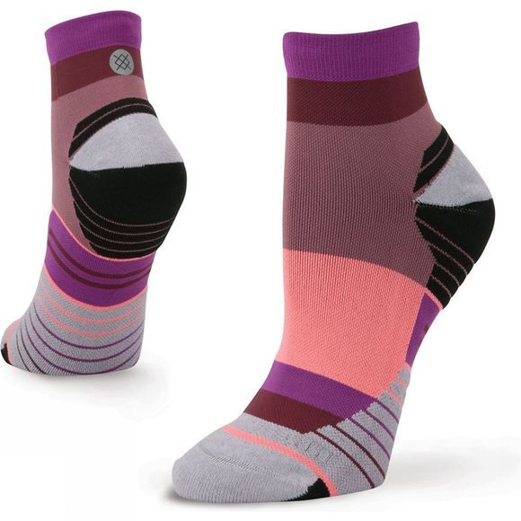 Stance Womens Carb Quarter Sock Purple