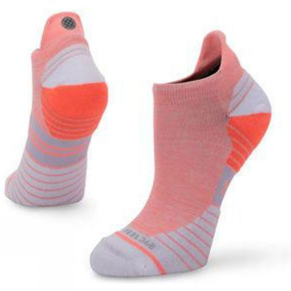 Stance Womens Uncommon Solid Tab Socks Coral