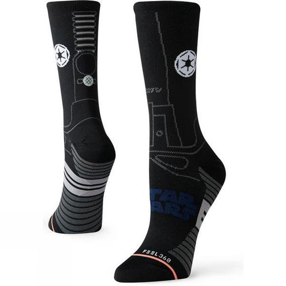 Stance Womens Star Destroyer Crew BLK