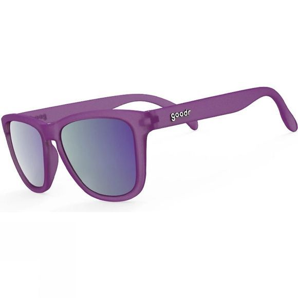 Goodr OGS - Gardening with a Kracken Purple with Teal Lens
