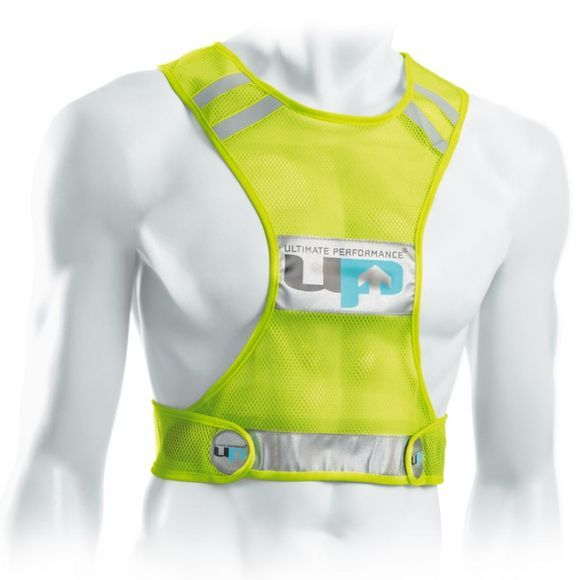 Ultimate Performance Reflective Race Vest High Viz Yellow