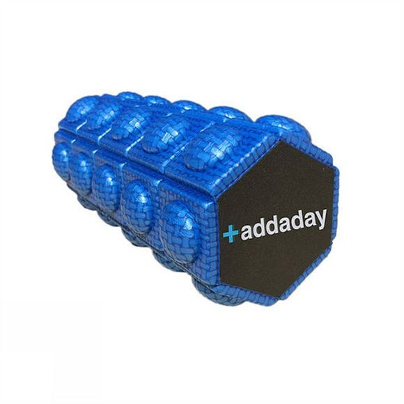 Addaday Hexi Foam Roller Blue