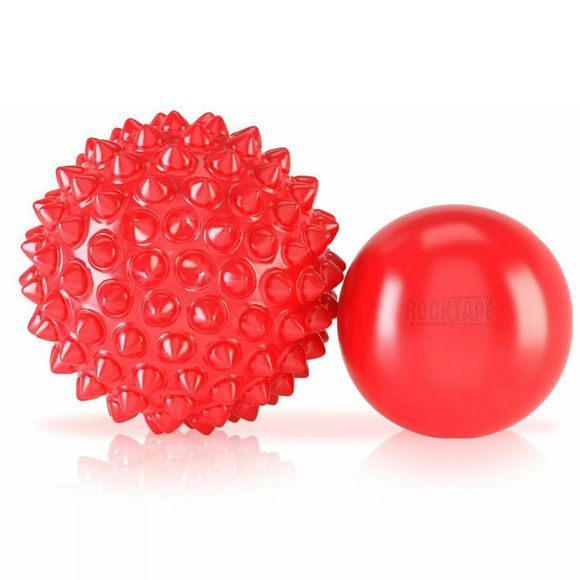 Rocktape RockBalls - Twin Pack  Red