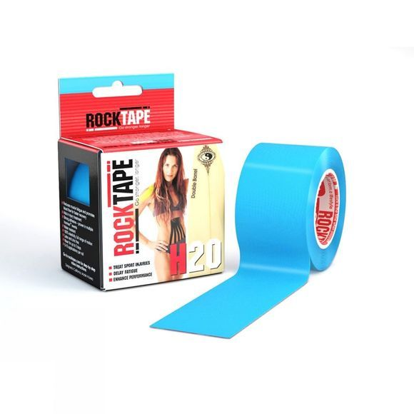 Rocktape H20 5cm x 5m Kinesiology Tape Roll Blue
