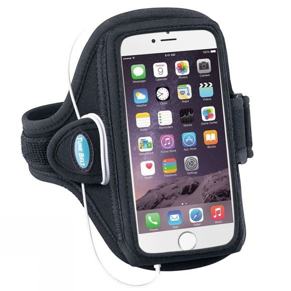 Tune Belt iPhone 6/7 Plus Armband Case Black