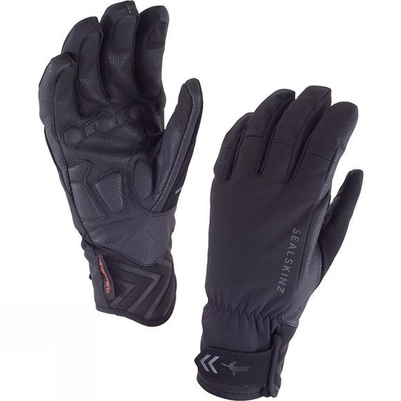 SealSkinz Mens Highland Gloves Black/Black