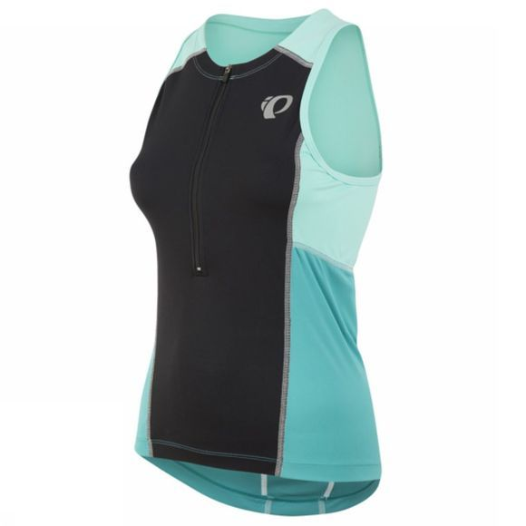 Pearl Izumi Women's Select Pursuit Tri Sleeveless Jersey Blk / Dazzling Blue