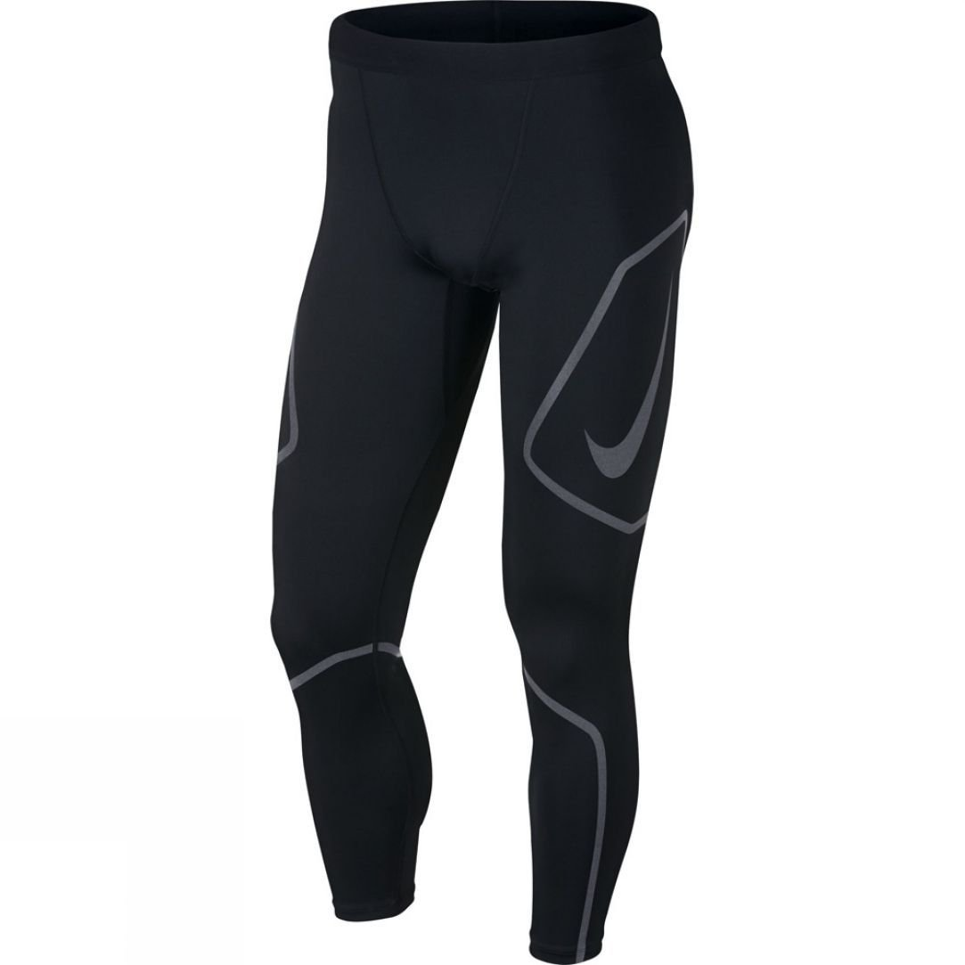 9ffaaaf5153bd Nike Mens Tech Graphic Running Tights | Runners Need