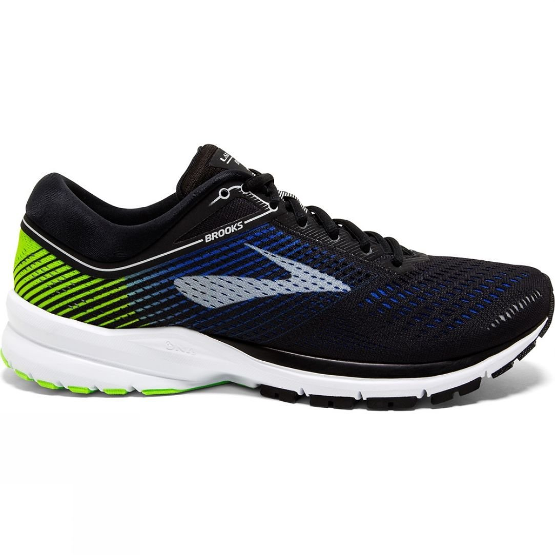 1e2ade1547031 Brooks Mens Launch 5. Colour  Blue Nightlife White
